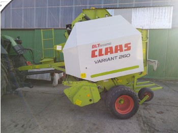 CLAAS Variant 260 Rotofeed - bale wrapper