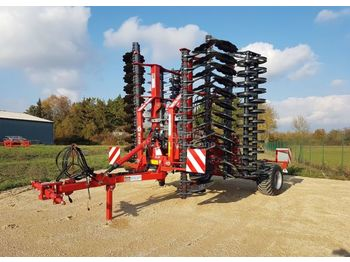 Metal-Fach bizon trainé 6.0M double rouleau U - disc harrow