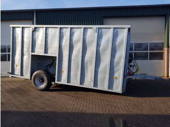 New Agomac 35 m3 RDW gekeurde mestcontainer - farm trailer