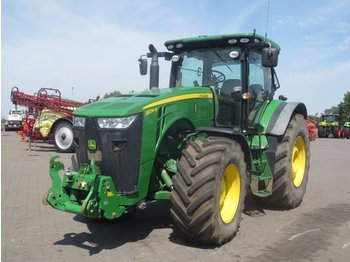 John Deere 8335R mit Star Fire 3000 - wheel tractor