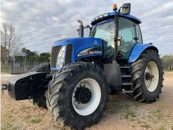 Wheel tractor NEW HOLLAND TG285