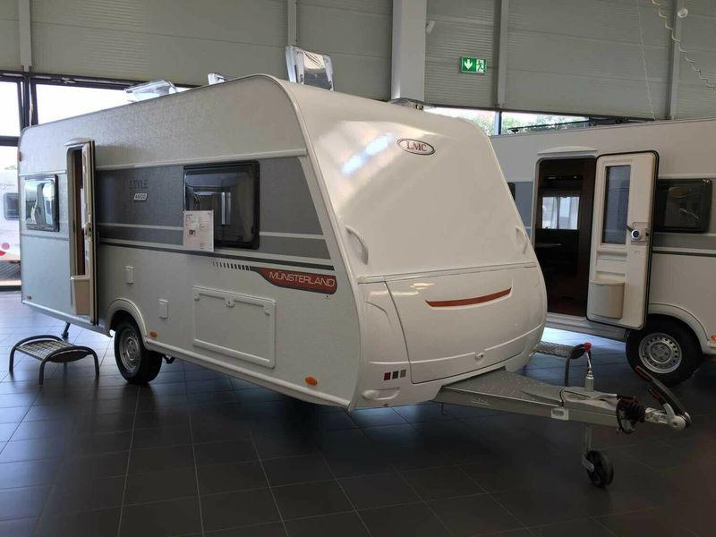 Travel trailer LMC Style 460 D **WINTER-SALE** 1700Kg,ATC,3 Pakete — 3138398