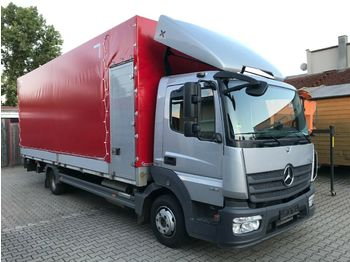 Mercedes-Benz 818 Pritsche Plane LBW EURO 6  - curtain side van