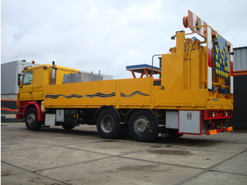 Asphalt machine SCANIA 380 6x2 Thermoplastic Pre Melt Truck