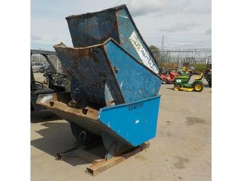 LOT # 0369 -- Tipping Skip to suit Forklift (3 of) - concrete mixer