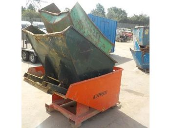 LOT # 0372 -- Tipping Skip to suit Forklift (3 of) - concrete mixer