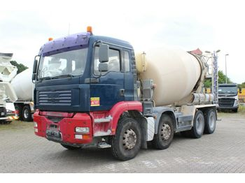 MAN TGA 32390 8X4  - concrete mixer