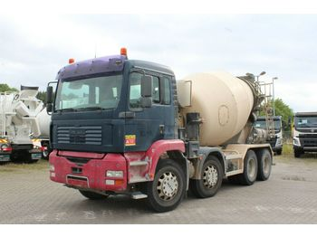 MAN TGA 32410 8X4  - concrete mixer