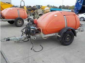Single Axle Pressure Washer (Spares) - construction equipment