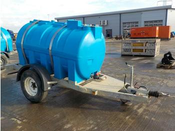 Single Axle Water Bowser - construction equipment