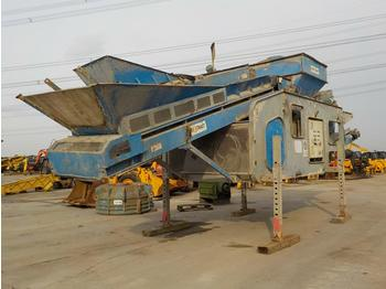 2011 Waste Systems X1000 Static Waste Separator - screener
