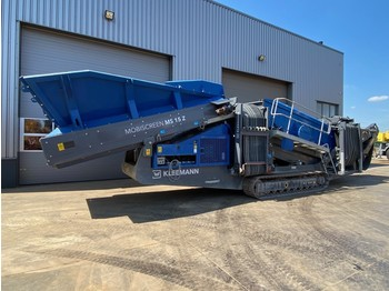 Kleemann Reiner MS15Z AD 1520 mm x 4880 mm 2 Deck Crawler Ho Screening Plant - screener