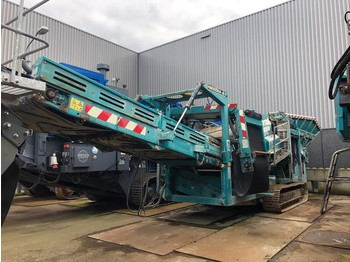 Powerscreen Warrior 1400 3 way split - screener