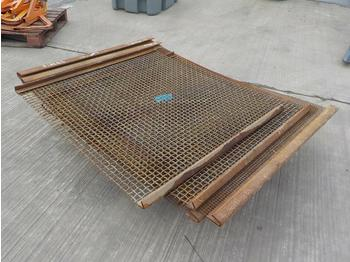 Screener Mesh (2 Pallets of) - screener