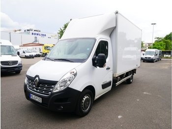 Closed box van RENAULT Master Koffer 3,5t 2,5 To AHK Last