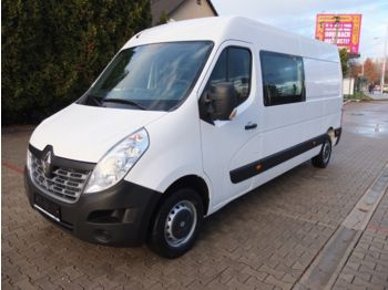 Closed box van Renault MASTER L3H2 130PS DOKA 7 SITZE