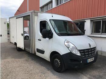 Closed box van Renault Master 125