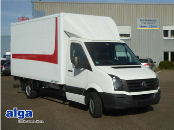 Closed box van Volkswagen Crafter, 3,5 t., 163 PS, 4,4 m. lang, LBW.