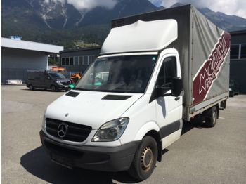 Mercedes-Benz Sprinter 316 Pritsche Plane Bühne  - curtain side van