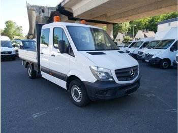 MERCEDES-BENZ Sprinter II Pritsche DoKa 316 CDI 2,8 to AHK - open body delivery van