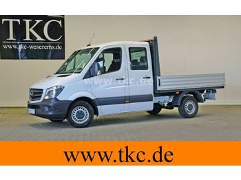 Open body delivery van Mercedes-Benz Sprinter 213 313 CDI Doka Pritsche Klima #79T244
