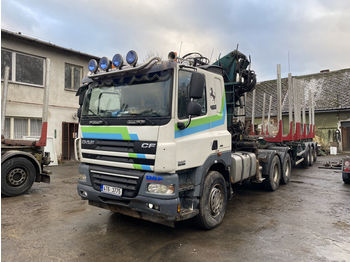 DAF CF 85 460 - timber transport
