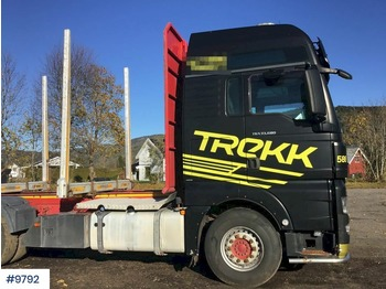 MAN TGX33.680 - timber transport
