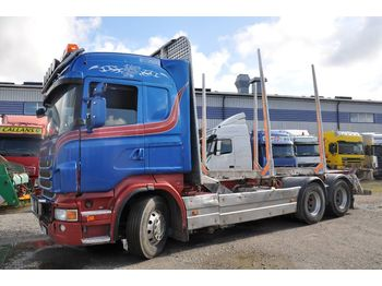 SCANIA R480 - timber transport