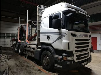 SCANIA R 730 V8 6x4 - timber transport
