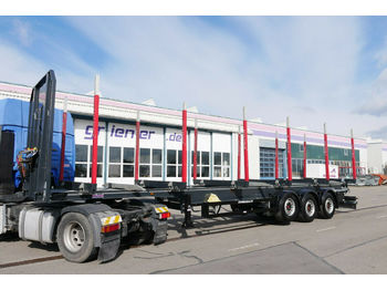 Schwarzmüller Y serie / RUNGENSATTEL HOLZ 5,7to. ECCO STEEL 9t  - timber transport