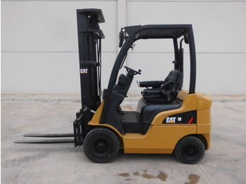 CATERPILLAR DP18N - 4-wheel front forklift