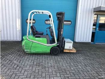 Cesab Heftruck, 1,5 ton, Elektro, Sideshift, Freelift - 4-wheel front forklift