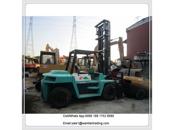 MITSUBISHI fd70 - 4-wheel front forklift