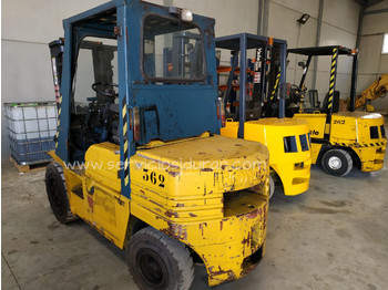 TOYOTA 5FD30 - 4-wheel front forklift