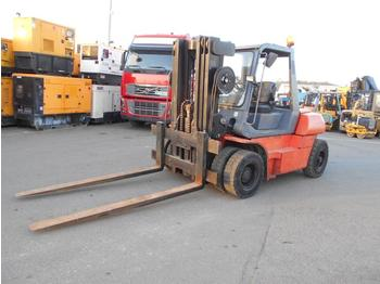 Toyota 025FD60 - 4-wheel front forklift