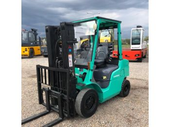 Forklift MITSUBISHI FD25N,TRIPLEX, ONLY 4267 hours !