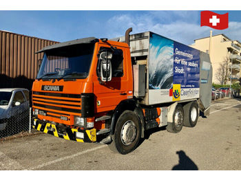 Scania P114     6x2/4  - garbage truck