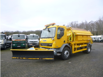 D.A.F. LF 55.220 4x2 RHD snow plough / salt spreader - vacuum truck