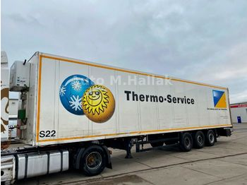 Schmitz Cargobull Koffer Isoliert Thermo King Heizung Doppelstock  - closed box semi-trailer