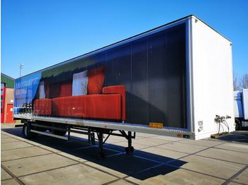 Spier SPIER SLG 100 | 1-axle City-Trailer Koffer 1345  - closed box semi-trailer