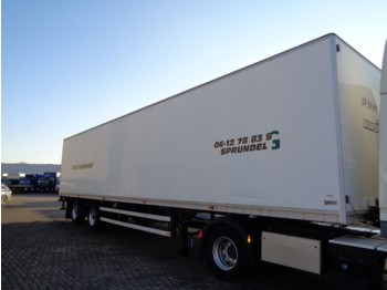 Talson 2Axle + Lift - closed box semi-trailer