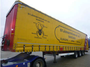 - semi-trailer curtainsider