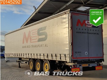 Kögel S24-1 3 axles APK 3-2022 SAF Edscha - curtainsider semi-trailer