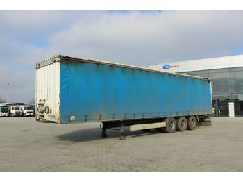 Curtainsider semi-trailer Krone SD 04, LIFTING AXLE, LIFTING ROOF, MULTILOCK