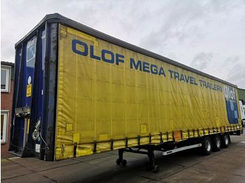 Lag O-3-GT 50 MEGA | 3 BPW Axles | 1360x249x299 | XL  - curtainsider semi-trailer