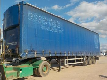 Lawrence David 45' Tri-Axle Curtainsider Trailer - curtainsider semi-trailer