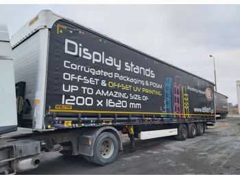 Curtainsider semi-trailer WIELTON NS 3 Mega