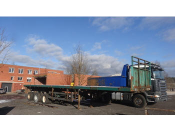 NOOTEBOOM OVB 55VV - flatbed semi-trailer
