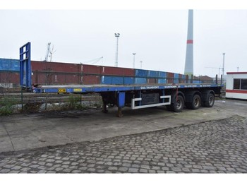 Nooteboom 0VB-48-03V - flatbed semi-trailer