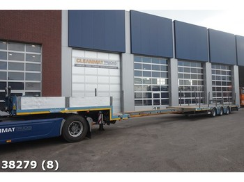 Flatbed semi-trailer Nooteboom MCO-48-03V/L Extendable